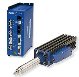 電動シリンダ/シャフトモータ、高速、防水、メンテナンス・フリーの直動システム